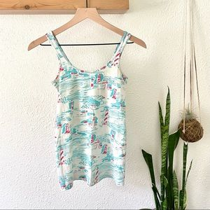 Lilly Pulitzer lighthouse tank